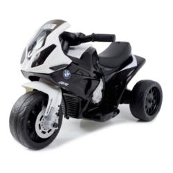 Электромотоцикл BMW S1000RR Black (трицикл, 6V) - JT5188 (музыка, свет фар)