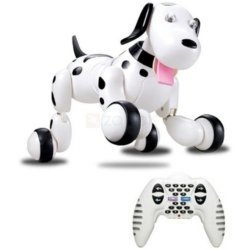 Радиоуправляемая робот-собака HappyCow Smart Dog Black - 777-338