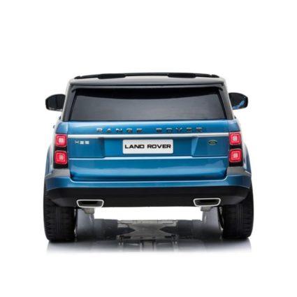Электромобиль Range Rover HSE 4WD синий (2х местный, полный привод, колеса резина, кресло кожа, пульт, музыка)